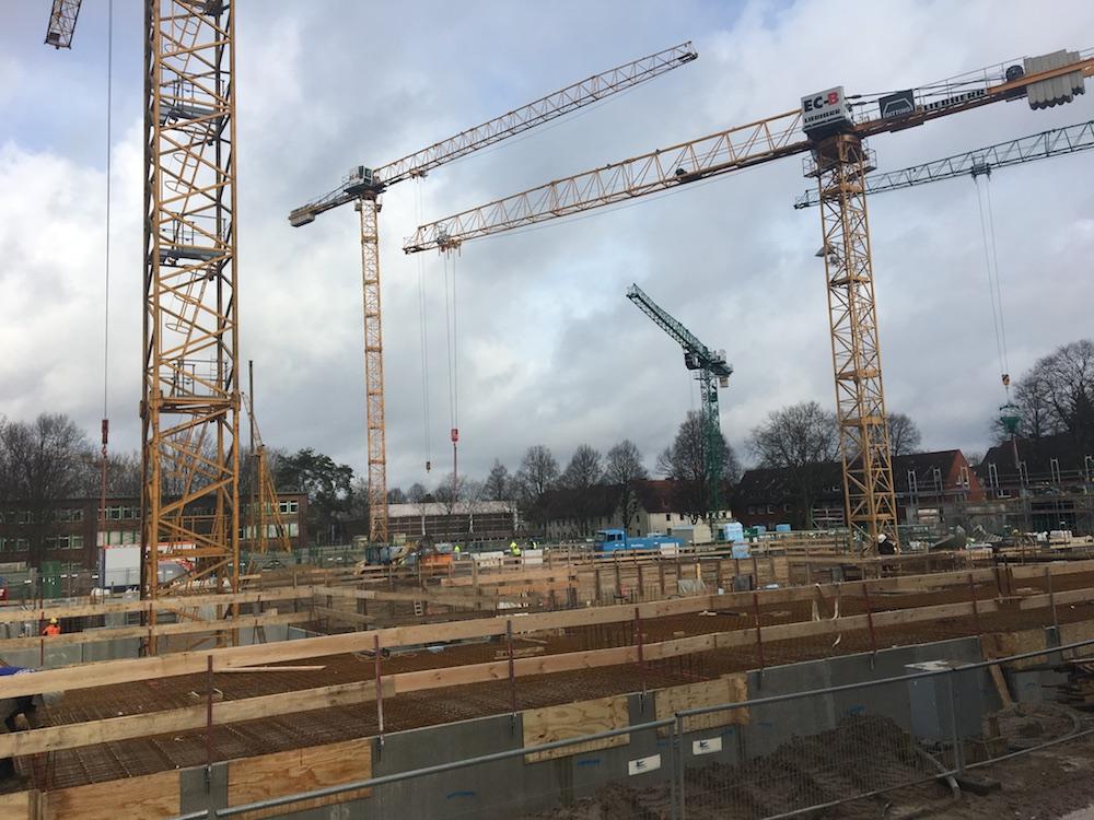 Baustelle Suederfeld Park