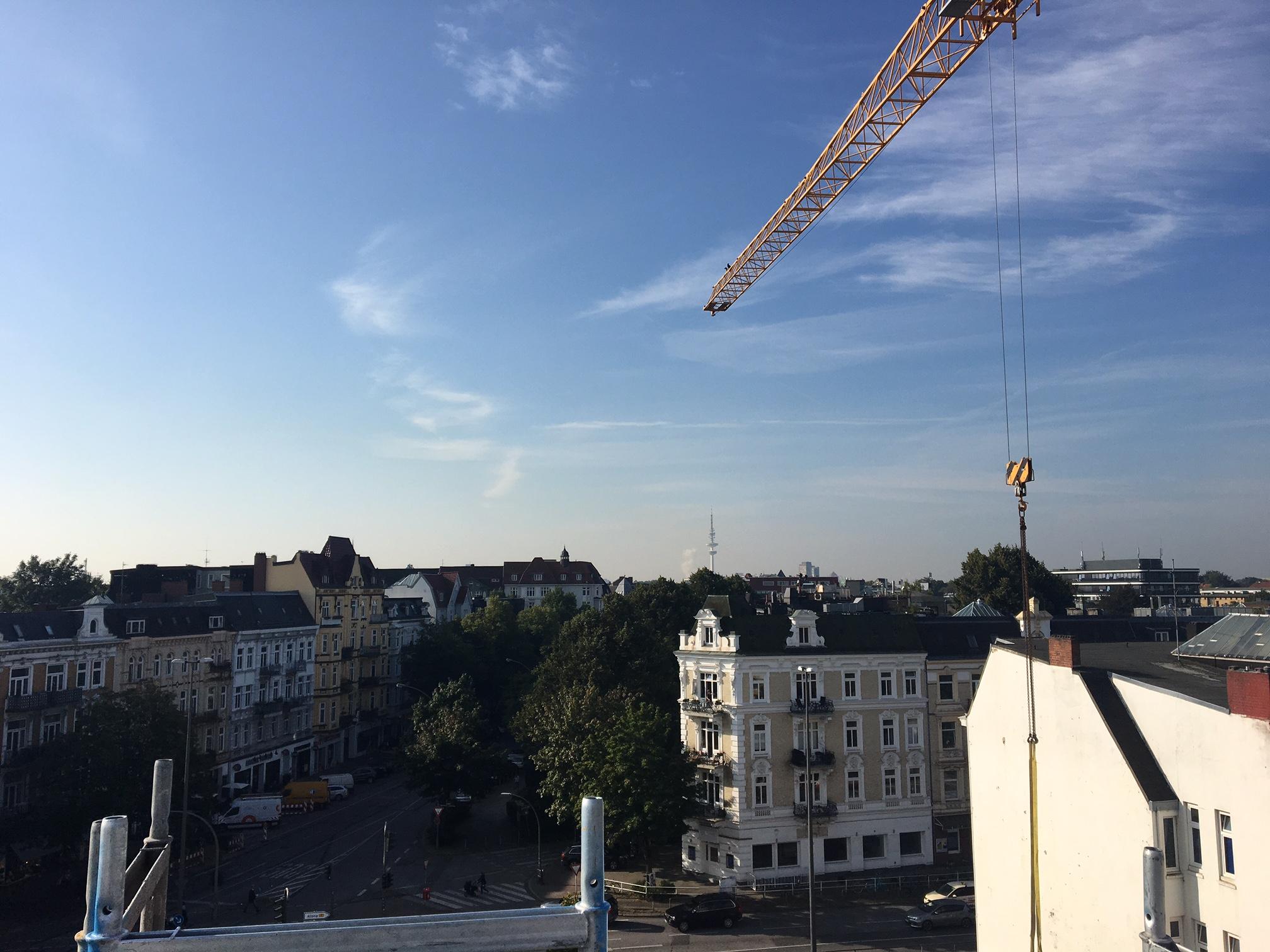 Eppendorfer Landstraße 107/109 Dach