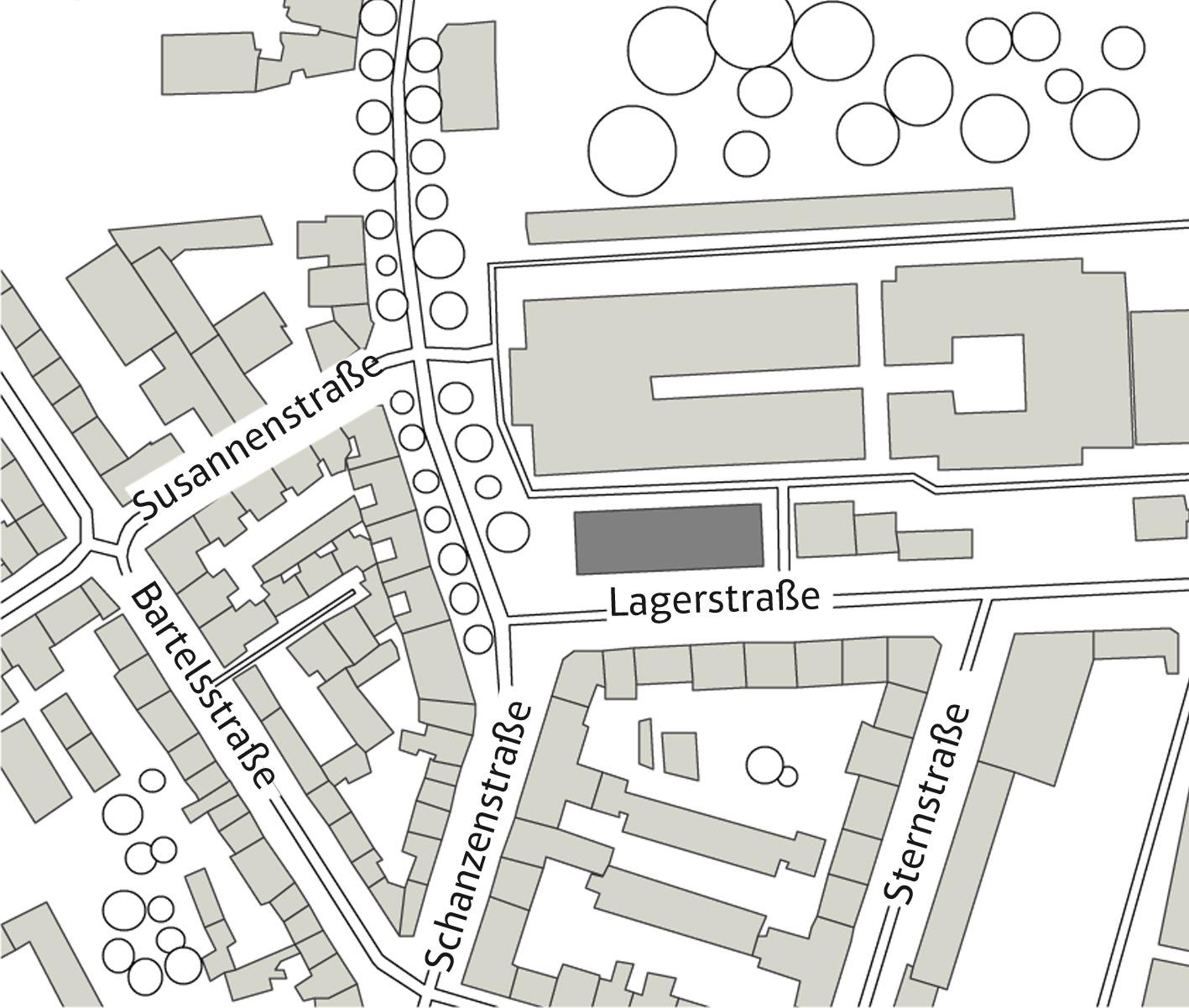 LAGERSTRASSE 36 Produktionsbüro und Tonstudio