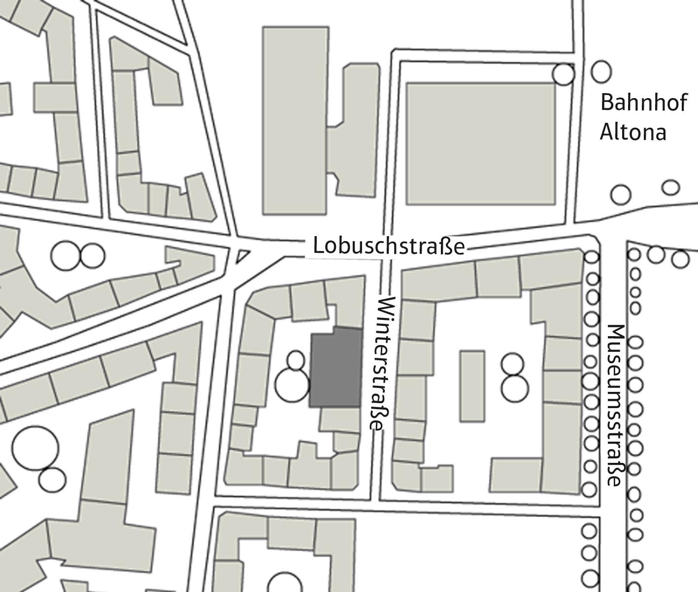 WINTERSTRASSE Bürolofts (zus. mit Arch. T. Wehrhahn) Hamburg Ottensen