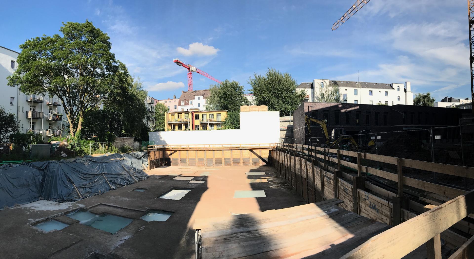 Projekt Ruhrstraße Baustartschuss