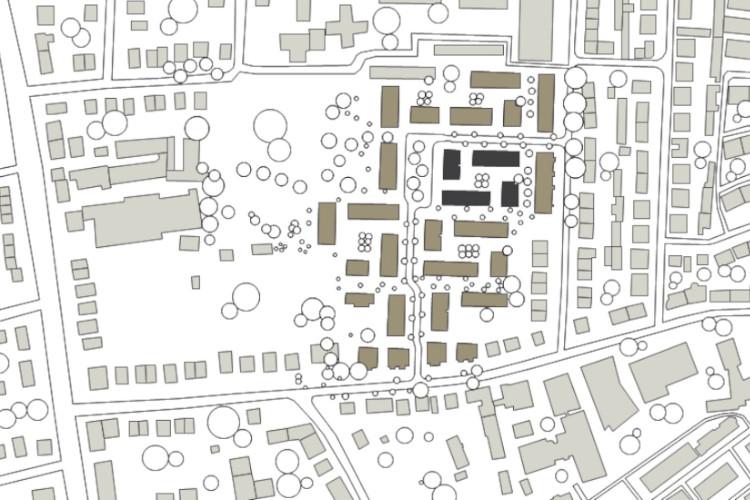 Lageplan Suederfeldstrasse