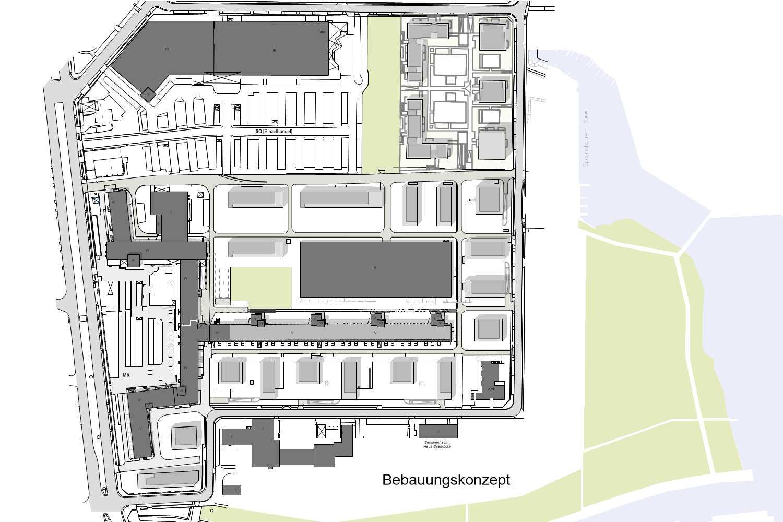 Bebauungskonzept Quartier Berlin