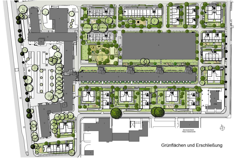 Lageplan Quartier Berlin