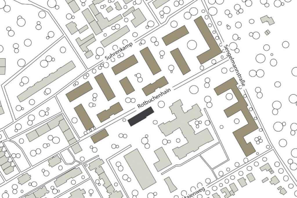 Lageplan Rotbuchenhain